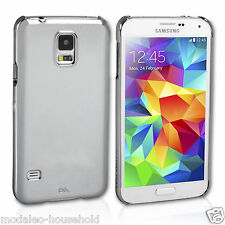 New Genuine Designer Case Mate studio collection Silver Samsung Galaxy S5 case