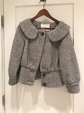 Leifsdottir Grey Wool Jacket 2 RARE