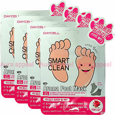 DAYCELL Aroma Foot Mask (4pack-8sheets) Smart Soft Prevent Dry Skin Moist Care
