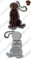 Labrador Cache Buddy For Geocaching (Travel Bug Geocoin)