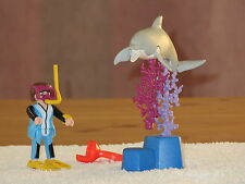 Superbe playmobil - 3948 - Plongeur/Dauphin - Comme neuf - +4 ans