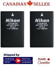 2 PC Brand New EN-EL9 Camera Battery For Nikon D5000 D3000 D60 D40x D40