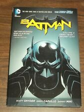 Batman Zero Year-Secret City Vol 4 Scott Snyder (Hardback, 2014)  9781401245085