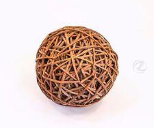 Wicker Straw Ball Large Rattan Round Brown Floral Arrangement Supplies