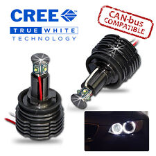 Bmw Serie 7 02-on Cree Led Angel Eye Kit Brillante 40w H8 E65 E66