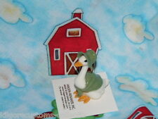 Hagen Renaker Mother Goose Green Figurine Retired Rare Limited Christmas Edition
