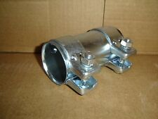 """2.25"""" X 5"""" STAINLESS STEEL EXHAUST SLEEVE CLAMP HEAVY DUTY"""