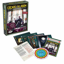 Escape the Room Dr Gravely's Retreat Mystery Puzzle Juego De Mesa 3-8 Jugadores