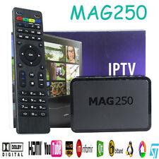 MAG 250 HDMI STREAMING USB HD TV BOX DECODER IPTV HDTV 1080P MEDIA PLAYER