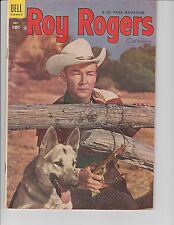 Roy Rogers #79 ( Photo Cover  FN  6.0) July-1954,  DELL