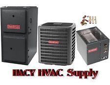 2-1/2 Ton 16 Seer AC + 80K btu 96% 2 Stage Gas Furnace GSX160301 GMEC960803BN