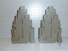 LEGO® Ritter 4x Burg Felsen Stein in alt dunkelgrau 6082 6083 aus Set 6076 R550