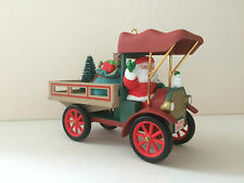 "HALLMARK USA KEEPSAKE: ""HERE COMES SANTA # 15: HAPPY HAUL-IDAYS"" FROM 1993"
