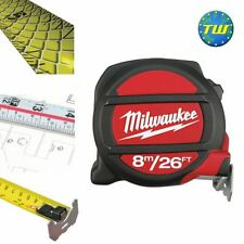 Milwaukee 8M 26Ft Double Sided Metric & Imperial Tape Measure with Magnetic Tip
