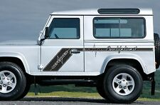 LAND ROVER DEFENDER 90 Pulse Stripes Aftermarket DECAL Sticker SET