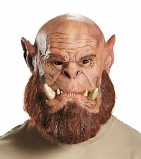 World of Warcraft Orgrim Doomhammer Deluxe Latex Mask Adult Costume Accessory