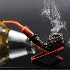New Gift Vintage Smoking Cigarette Bent Pipe Tobacco Cigar Pipes