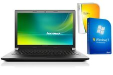 NOTEBOOK LENOVO B50 - QUAD CORE - 500GB HDD - WINDOWS 7 PRO + OFFICE - TFT MATT