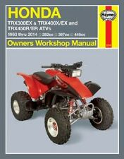 1993-2014 Honda TRX300EX TRX400EX TRX450R TRX450ER ATV Repair Manual 2013 1103