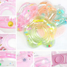 Pretty Aerated Baby Infant Swimming Safety Ring Kids Float Collar Neck Nice