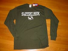 SRU SLIPPERY ROCK Univ PRIDE THE ROCK  long sleeve T-Shirt NEW  sz..  LARGE