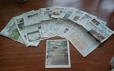 10 Newspapers-South. Oregon Flood 1997-Ashland Daily Tidings, Medford Mail Trib.