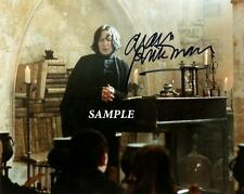 ALAN RICKMAN #1 REPRINT AUTOGRAPHED SIGNED PICTURE PHOTO HARRY POTTER AUTO RP