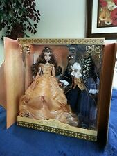 Disney Beauty and the Beast Belle Limited Edition LE 500 Platinum Doll Set #19