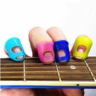 Guitar Thumb Bass Silicone Finger Picks Protector Plectrum Band Random Color