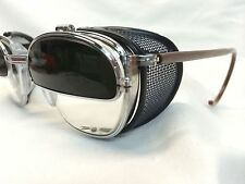 VINTAGE NEW OLD STOCK AUTHENTIC AO WELDER SAFETY GLASSES FLIP UP LENS USA