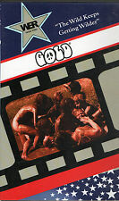 Gold (1968) VHS Bob Levis MC5 Wild Eye Releasing
