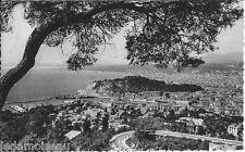 Carte postale, NICE, Vue générale prise du mont Boron, écrite au revers
