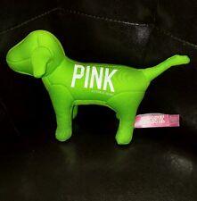 Victoria secret pink dog plush 2012 green 1986