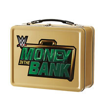 MONEY IN THE BANK TIN LUNCH BOX BRIEFCASE CASE WWE WRESTLING REPLICA OFFICIAL