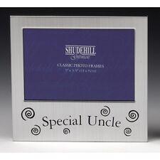 Satén Plata Marco de fotos tío especial-Shudehill Giftware
