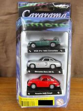 (S3) CARARAMA HONGWELL 1:72 scale COFFRET BOXED DISPLAY x 3 VOITURES CARS