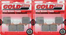 SINTERED FRONT BRAKE PADS (2x Sets) TRIUMPH 1050cc SPEED-TRIPLE 2008-2012