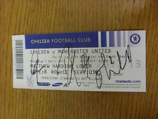 01/04/2013 Autographed Ticket: Chelsea v Manchester United [FA Cup] - Hand Signe