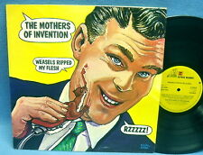 LP FRANK ZAPPA + MOTHERS OF INVENTION - WEASELS RIPPED MY FLESH / UK ENGLAND