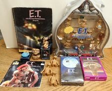 Lot of E.T. The Extra-Terrestrial Collectibles, Figurines, Books, Card, Movie