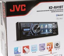 "JVC KDAV41BT DVD/CD Receiver with 3"" Fold-down detachable QVGA display WOW"