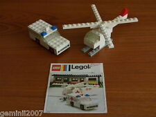 LEGO SET 653-1 Ambulance and Helicopter - Vintage (1973) - Compl NO BOX - XMAS