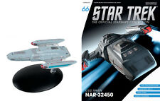 Eaglemoss Diecast STAR TREK ST0066 S.S. RAVEN EXPLORATION SHIP w/MAGAZINE #66