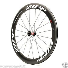 2016 - Zipp 404���� Firecrest Carbon Clincher Front wheel only White Decals����