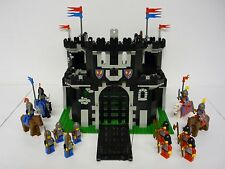 LEGO BLACK MONARCH'S CASTLE #6085 Vintage Set w/Minifigs COMPLETE 1988