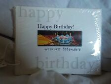 """""""Happy Birthday"""" with Cake Sign Language Cards"""