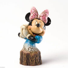 Disney Jim Shore Minnie Mouse Carved by Heart Figurine #4033289