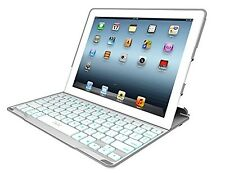 ZAGG  PROfolio+ Ultrathin Case with Backlit Bluetooth Keyboard for iPad 2/3/4...