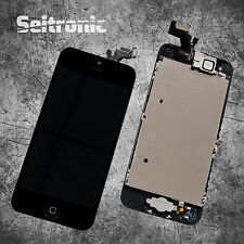 Display iPhone 5 LCD VORMONTIERT mit RETINA Glas Touchscreen -SCHWARZ- BLACK -