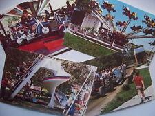 4~ Fantasy Farm Amusement Park LeSourdsville Middletown Ohio Postcard Lot 1960s